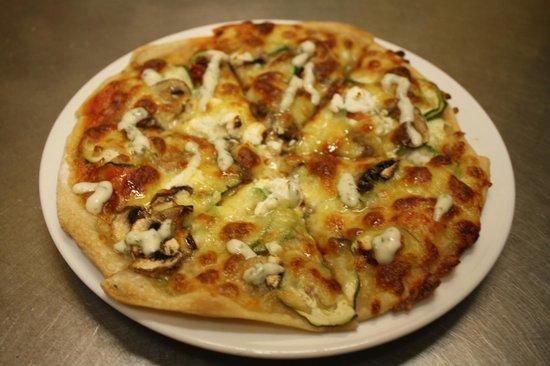 Naturally Fiordland Pizzeria : Pizza Vegeterian