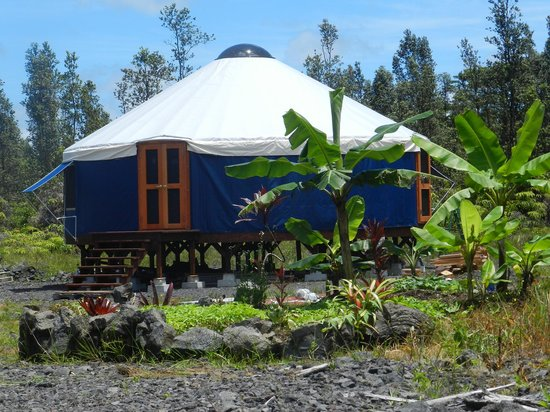 Eco Retreat Hawaii: Mauna Kea Yurt