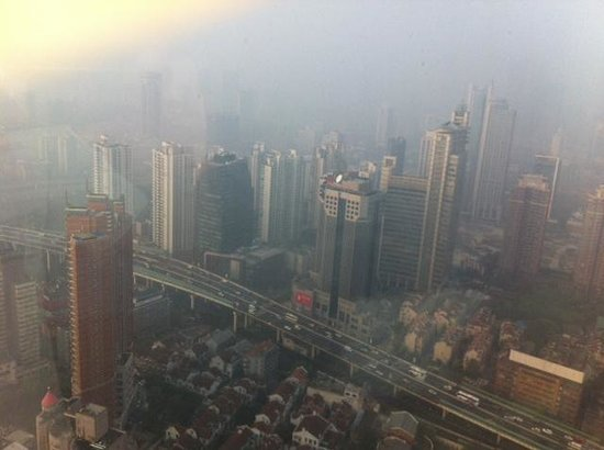 JW Marriott Hotel Shanghai at Tomorrow Square: view from the 43nd floor