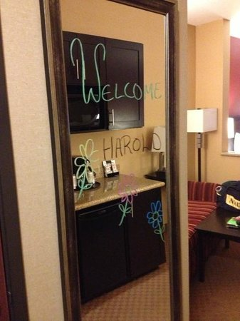 Comfort Suites Ontario Convention Center: A Personal Greeting for Guests