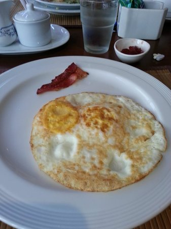 "Le Siam Hôtel: ""Bacon"" and fried eggs"