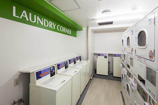 Flex Stay Inn Ekoda: Laundry