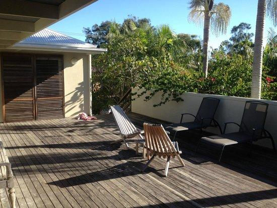 The Cape Beach House: The balcony