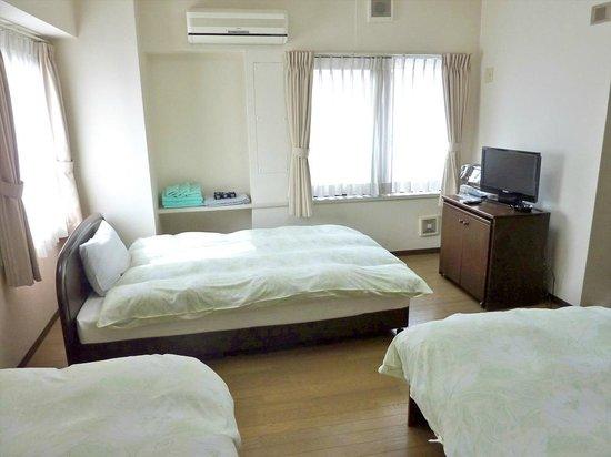 Flexstay Inn Kiyosumishirakawa: Triple_Room