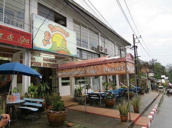 Top Resort: The street entrance