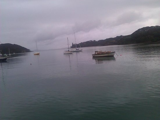 Mangonui Waterfront Apartments: Mangonui harbour