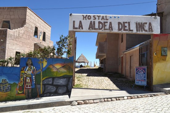 La Aldea del Inca : Entrada