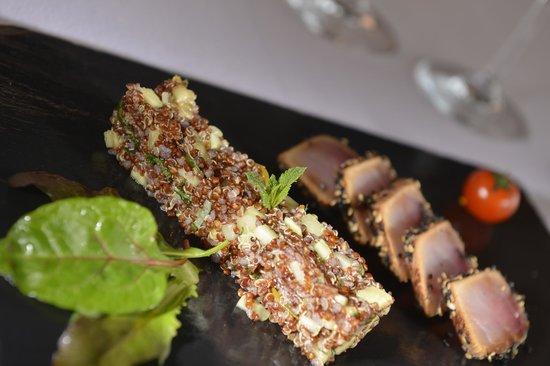 A la Clef d'Or: Quinoa et Espadon