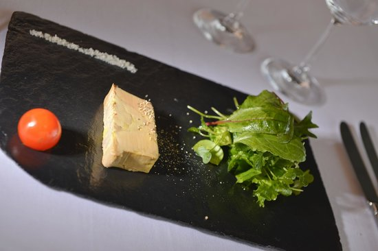 A la Clef d'Or: La terrine de foie gras de canard à l'armagnac