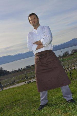 A la Clef d'Or: Le chef Fabrice Jovet