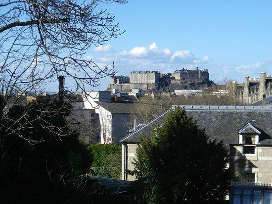 BEST WESTERN PLUS Edinburgh City Centre Bruntsfield Hotel: vue de notre chambre (133)