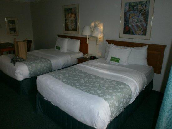 La Quinta Inn Fresno Yosemite : Con dos camas matrimoniales