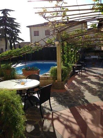 Albergo Roma : piscina e giardino Hotel Roma CASCIANA TERME (PI)