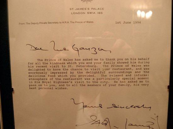 Staraya Derevnya: Prince Charles has visited 1994