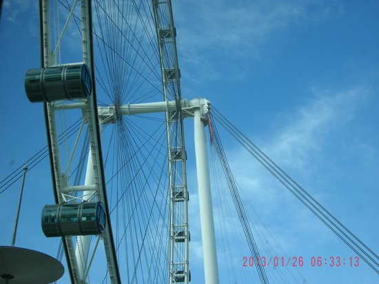 Bayview Hotel Singapore: Singapore Flyer