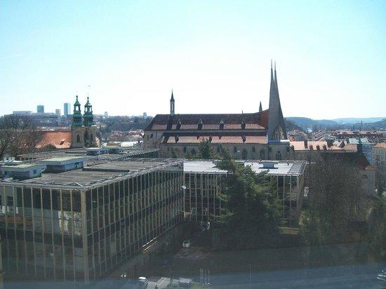 Best Western City Hotel Moran: Вид из окна