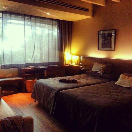 Hostal Spa Empuries: Nuestra habitacion spa 2