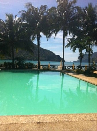 the pool Picture of El Nido Garden Beach Resort El Nido