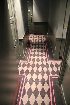 La Maison Favart: Corridor