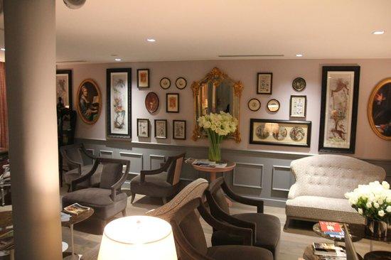 La Maison Favart: Lobby