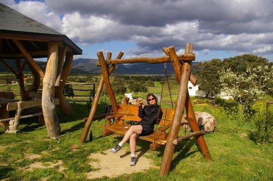 Agriturismo Pedru Caddu: Relaxing with great views from Pedru Caddu