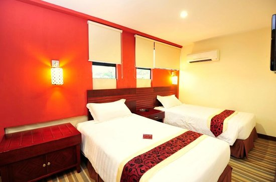 Grand Hallmark Hotel: Deluxe Twin