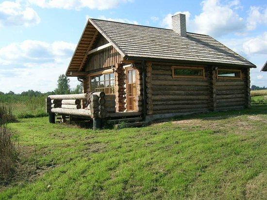 Iigaste, Estland: Sauna