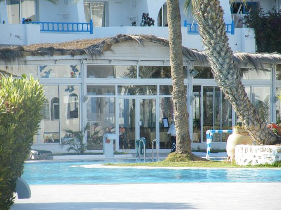 Hotel Golf Beach & Spa: Véranda du restaurant