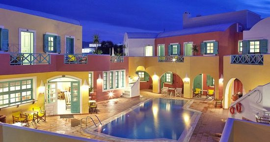 Nikos Hotel: Exterior