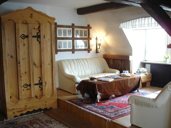 Hotel Schlundhaus: Wartburg Junior-Suite Sitzecke