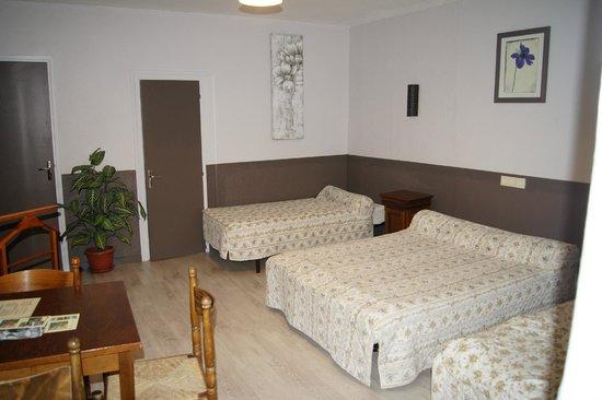 Le Grand Hotel : Chambre quadruple