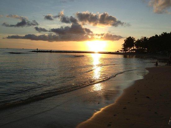 Windjammer Landing Villa Beach Resort: Sunset