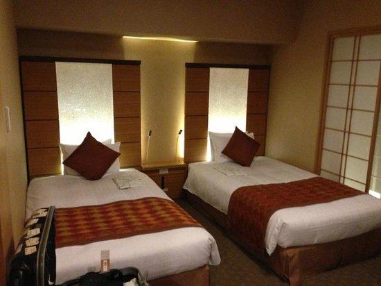 Hotel Niwa Tokyo: The Comfortable beds