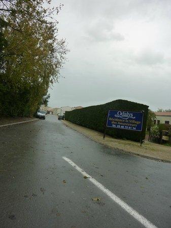 Residence Odalys Le Village des Amareyeurs: l'entrée de la résidence