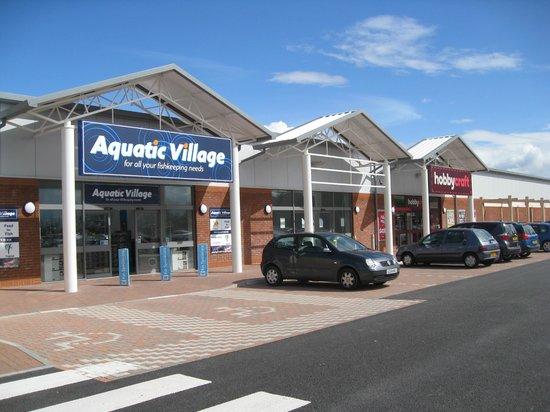 Haskins Garden Centre: Aquatic Village & Hobbycraft Stores.