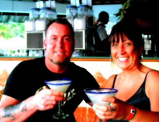 Grand Bahia Principe San Juan: bartender made us special drinks great staff