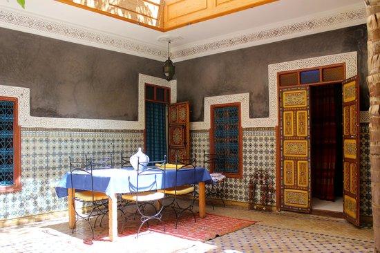 Riad Zara : Courtyard