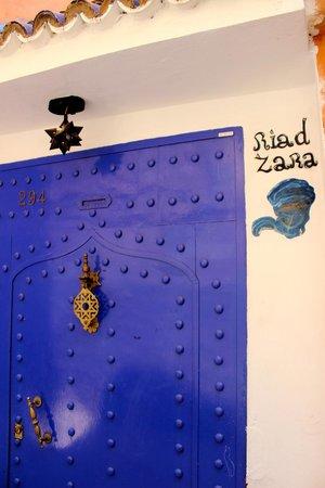Riad Zara : Entrance
