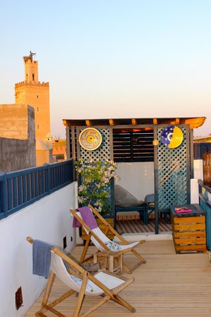 Riad Zara : Rooftop terrace