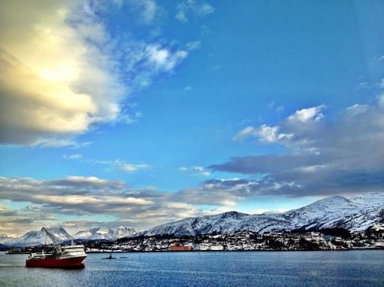 Quality Hotel Waterfront Alesund: utsikten fra rom 314