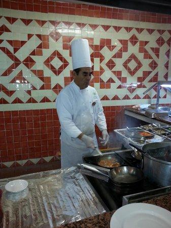 The Reef Coco Beach: Juan the Pasta man