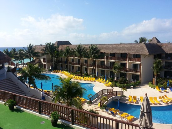 The Reef Coco Beach: View from room 2409
