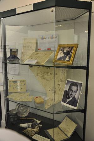 Gwynedd Museum & Art Gallery: display case which changes regularly, ground floor