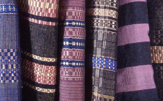 Gwynedd Museum & Art Gallery: silk linseys, traditional welsh textiles