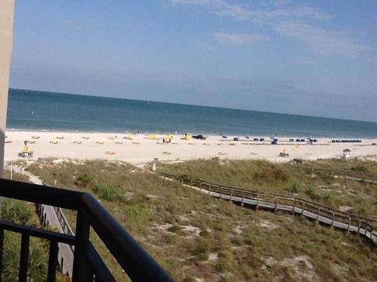 Gulf Strand Resort: вид с балкона