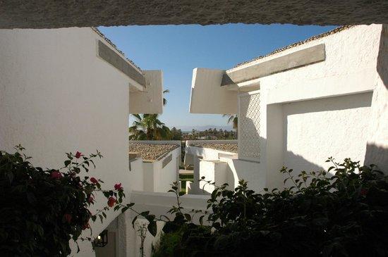 Club Med Yasmina: vue depuis le bâtiment principal