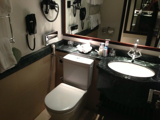 Swissotel Makkah: bathroom