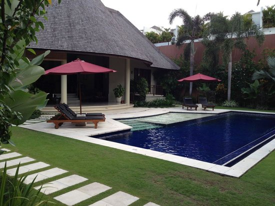 The Kunja Villas & Spa: Our First Glimpse - wow!