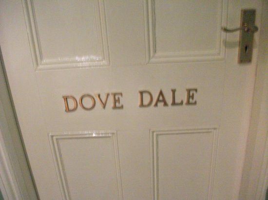 The Devonshire Arms at Beeley: Name of Room