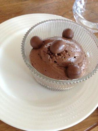 Restaurant Au Chantier: mousse au chocolat